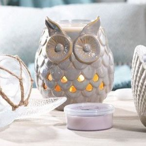 Yankee Candle OWL Scenterpiece Meltcup Warmer